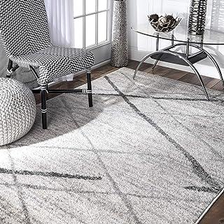nuLOOM Thigpen Contemporary Area Rug, 5` x 8`, Grey, Gray