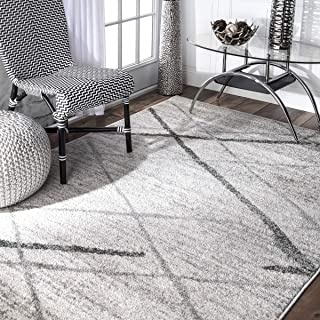 nuLOOM Thigpen Contemporary Area Rug, 5' x 8', Grey, Gray