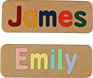 Personalized Name Puzzle, Made in the USA, Toddler Educational Learning Gift, FREE SHIPPING