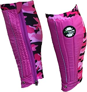 SALE UP TO 60% OFF RRP Moxie Gear Shin Gaiters Pink Camo