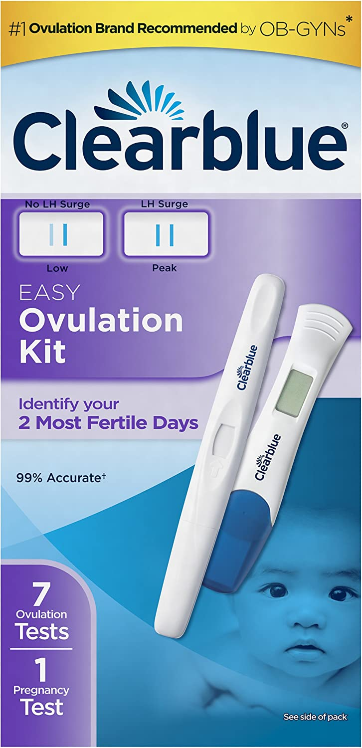 Clearblue Ovulation Test Combination Pack, 8 Count