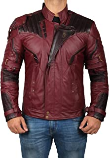 Superhero Costumes for Men - Cosplay Leather Jackets for Adults