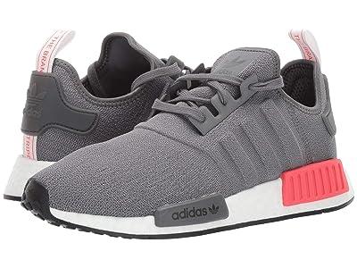 adidas Originals NMD_R1 (Grey Four F17/Grey Four F17/Shock Red) Men