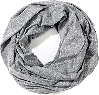 Light Weight Infinity Scarf for women Soft Plaid Travel Scarves Fashion Circle Loop Scarf