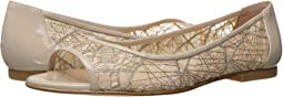 Beige Chagall Mesh/Patent Leather