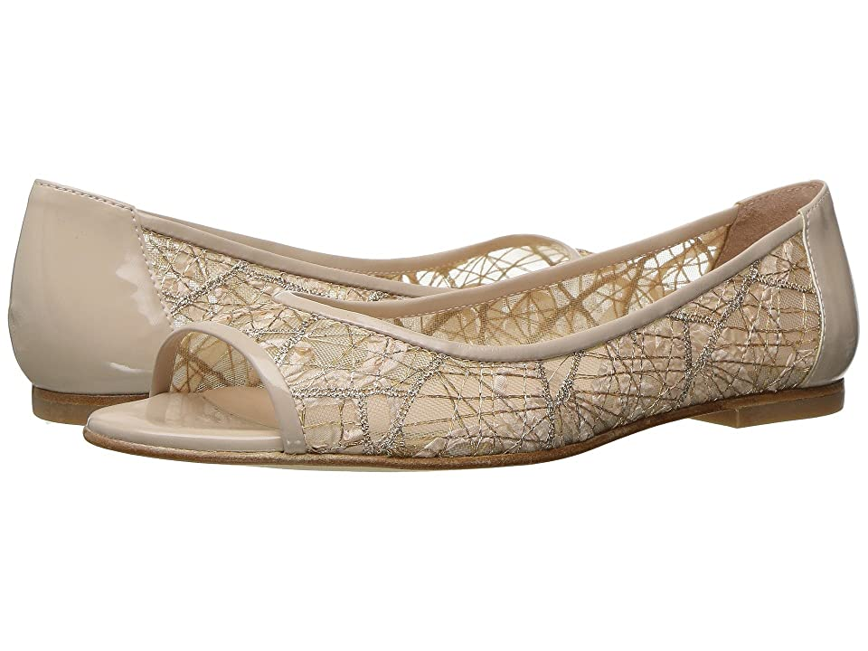 French Sole Noir (Beige Chagall Mesh/Patent Leather) Women