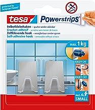 Tesa Powerstrips kanca (küçük metal) gümüş mat, Gümüş, 57066-00000-00