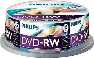 PHILIPS DN4S4B25F - 25 x DVD-RW - 4.7 GB (120 Min.) 1x