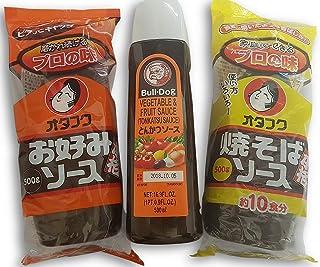 Okonomi Sauce, Yakisoba Soße, Tonkatsu Sauce Zutaten für O
