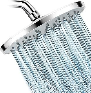 WarmSpray Shower Head High Pressure Rainfall Shower Head- 9'' Luxury Chrome Engineering ABS Rain Shower Heads- For the Amazing Rainfall Spray Shower Relaxation