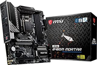 MSI - MAG B460M Mortar - Placa Base Arsenal Gaming (10th Gen Intel Core, LGA 1200 Socket, SLI/CF, Doble Ranura M.2, 2.5G LAN, DP/HDMI)