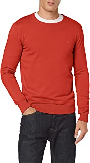 TOM TAILOR Men's Basic Crew Neck Sweatshirt