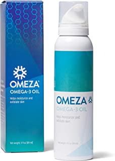 Omeza Omega 3 Oil - Moisturizing Body Oil for Skin Prone to Eczema, Psoriasis, and Dry Skin. Clinically Proven Formula Pro...