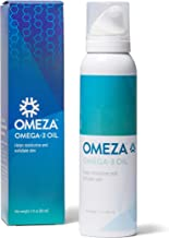 Omeza Omega 3 Oil - Moisturizing Body Oil for Skin Prone to Eczema, Psoriasis, and Dry Skin. Clinically Proven Formula Provides Instant and Long-Lasting Relief for Severely Dry and Cracked Skin.