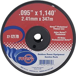 Rotary 12179 Black Vortex .095 Trimmer Line
