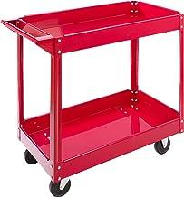 Arebos Werkplaats-rolwagen   montagewagen   grote belastbaarheid tot 100 kg   2 of 3 vakken   afzonderlijk of als set (2 v...