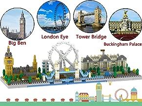 London Skyline Collection Model Architecture Building Block Set 1100pcs Mini Blocks DIY Toys Kit...