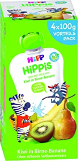 HiPP 喜宝 梨子香蕉 - 斑马 Charlie,4件装 (4 x 100克)