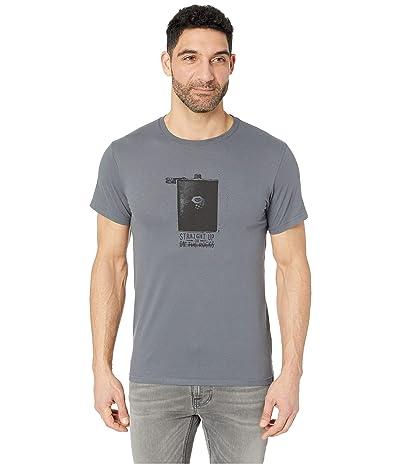 Mountain Hardwear Straight Uptm Short Sleeve Tee (Graphite) Men