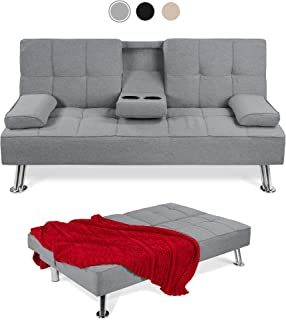 Amazon Com Pillow Top Sofas Couches Living Room Furniture Home Kitchen