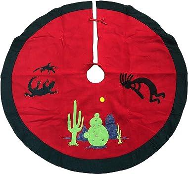 Gift Warehouse Cactus Plush Tree Skirt - Style 37388