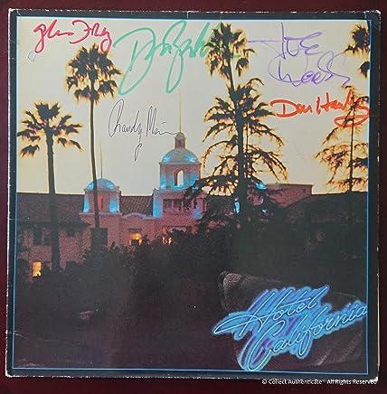 Eagles - Fully Autographed - 'Hotel California' Vinyl LP...