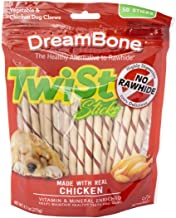 Best DreamBone Twist Sticks, Rawhide-Free Chews for Dogs, with Real Chicken Review