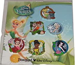 Disney Pin 90988: Disney Fairies - Booster Pack Set of 6 Pins Tinker Bell