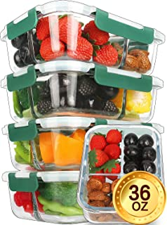 Best glass lunch containers with 3 compartments Reviews