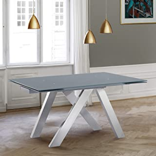 Armen Living Ace Dining Table, Grey