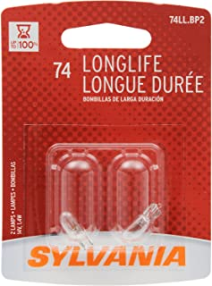 Sylvania 74 Long Life Miniature Bulb (Contains 2 Bulbs)