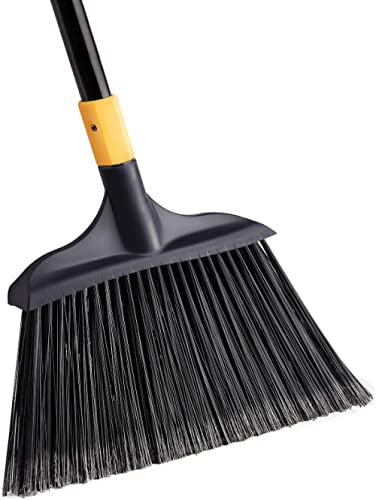 Yocada Heavy-Duty Broom Outdoor Commercial Perfect for Courtyard Garage Lobby Mall Market Floor Home Kitchen Room Off...