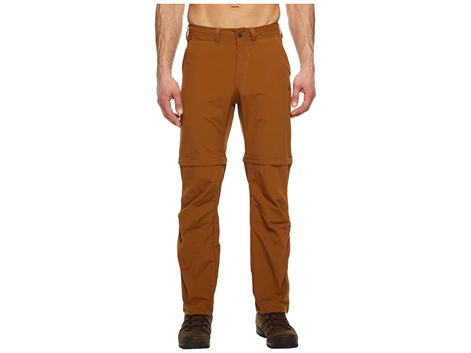 Jack Wolfskin Canyon Zip Off Pants (Deer Brown) Men