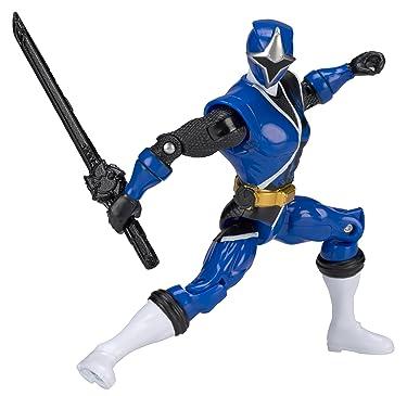 Power Rangers Ninja Steel 5-Inch Blue Ranger Action Hero Figure
