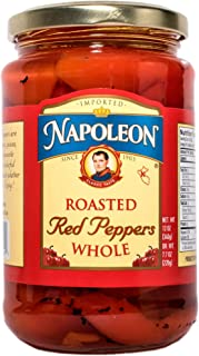 Napoleon Whole Roasted Red Peppers, 12 Ounce (Pack of 12)