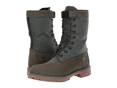 Timberland 6 Premium Gaiter Boot (Dark Green Nubuck) Men