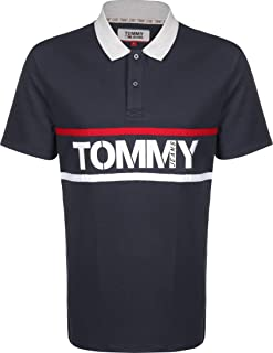 Tommy Jeans Men's TJM Bold Graphic Polo Polo