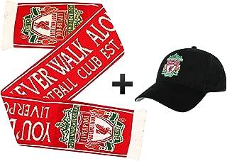 Liverpool FC Champions League Ensemble Cadeau Casquette et /écharpe