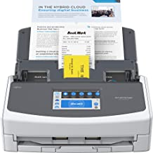 $399 » Fujitsu ScanSnap iX1600 Versatile Cloud Enabled Document Scanner for Mac or PC, White