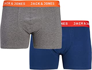 Jack Jones Men's Arron Pack Boxer Shorts M Red