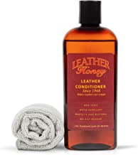 product image for Leather Honey Leather Conditioner & Cleaning Kit for use on Leather Apparel, Furniture, Auto Interiors, Shoes, Bags and Accessories. 8oz Conditioner and 1 Lint-Free Cloth.