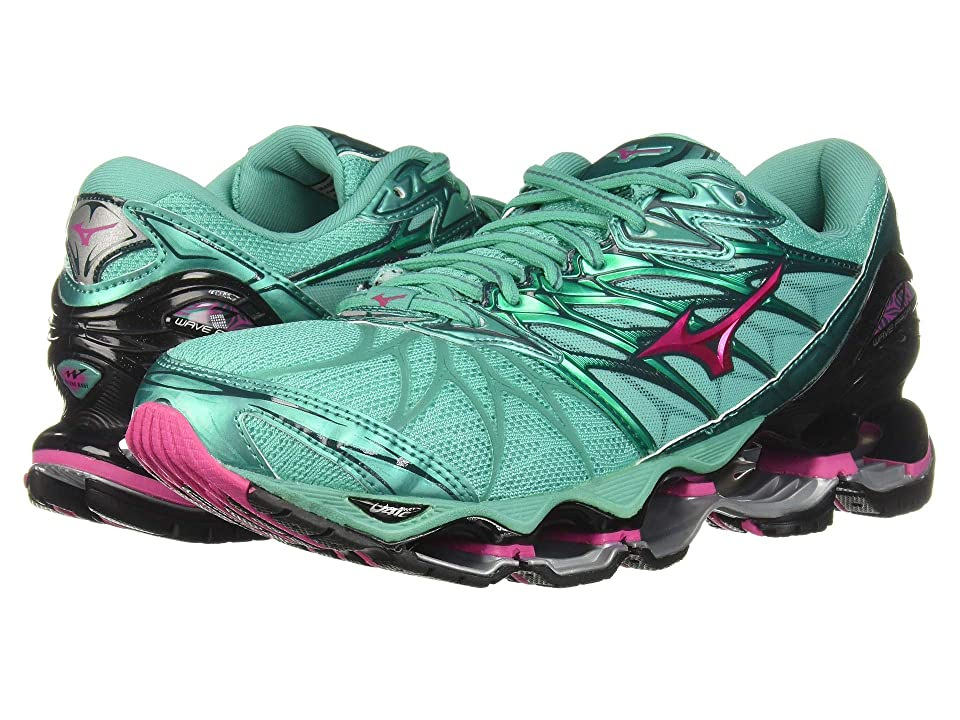 Mizuno Wave Prophecy 7 (Billiard/Pacific) Girls Shoes