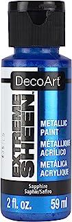 DecoArt DPM17-30 Sapphire Extreme Sheen Paint, 2 oz