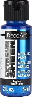 DecoArt 2 Ounce, Sapphire Extreme Sheen Paint, 2 oz