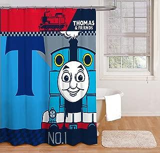 Mattel Thomas The Tank Engine Color Block Shower Curtain