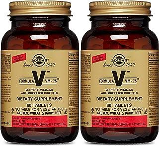 Solgar - Multivitamin with Chelated Minerals - Vitamin A, B6, B12, C, D, E - Biotin, Magnesium, Calcium, Iron, Zinc - Vega...