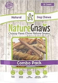 Nature Gnaws Variety Pack - 100% Natural Dog Chew Treats