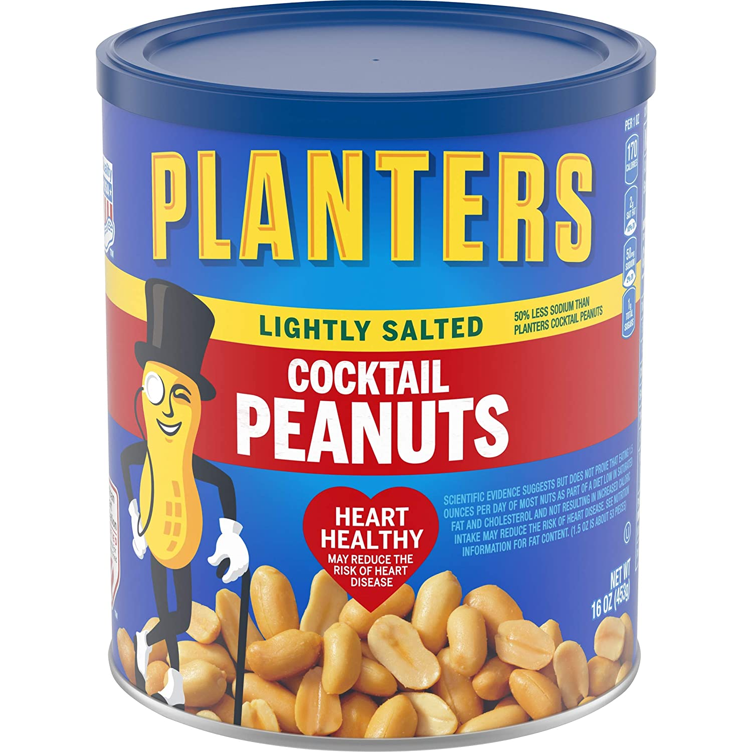Planters Cocktail Peanuts Lightly Ranking TOP10 Salted Ounce Max 62% OFF 96 Count 6
