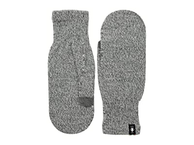 Smartwool Knit Mitt (Light Gray Heather) Over-Mits Gloves