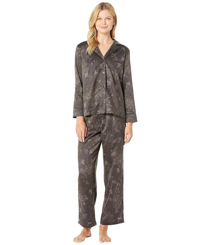 [ラルフローレン] レディース ナイトウェア Tonal Satin Notch Collar Pajama Set [並行輸入品]